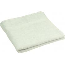 Полотенце махровое 70 х 140 см, гладкокрашенное, хлопок 100%, белое