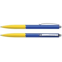 Ручка шариковая Schneider К15 желто-синяя