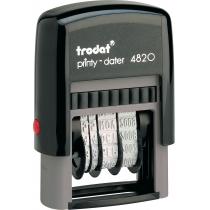 Датер TRODAT 4820, пласт., 4 мм, рос.