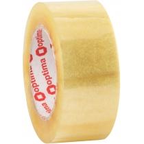 Лента клейкая упаковочная (скотч) Optima Extra, прозрачная, 48мм*140м