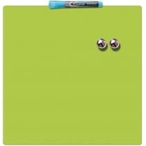 Магнітно-маркерна  дошка для сухого стирання 360х360 мм, колір зелений