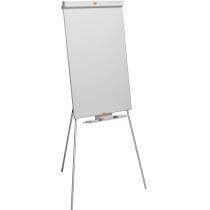 Фліпчарт NOBO Classic магнітно-маркерний на тринозі, 1000х700 мм, колір білий