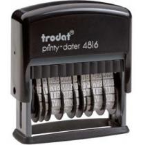 Мінідатер ТRODAT 4816 подвійний, пласт., 3,8 мм, цифр.,