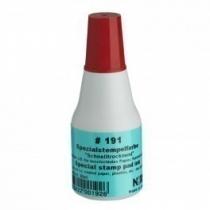 Фарба штемпельна спец., NORIS 191 на спиртовій основі, 25 мл, червона