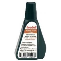 """Фарба штемпельна TRODAT """"Premium"""" 7012, 28 мл, коричнева"""