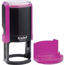 Оснастка автомат., TRODAT 4642, пласт., для печатки d 42 мм, рожева