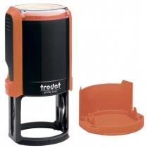 Оснастка автомат., TRODAT 4642, пласт., для печатки d 42 мм, помаранчева