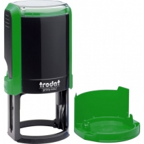 Оснастка автомат., TRODAT 4642, пласт., для печатки d 42 мм, зелена