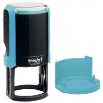Оснастка автомат., TRODAT 4642, пласт., для печатки d 42 мм, бірюза