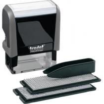 Штамп самонаборный TRODAT Printy 4913, 5 строк, 58х22 мм, укр-рус, серый
