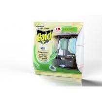 Подушечки с запахом зеленого чая Raid антимоль 18 шт
