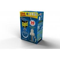 Жидкость для фумiгаторiв 30 ночей Raid