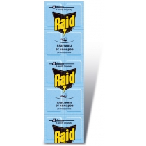 Пластины для фумигатора Raid 10 шт