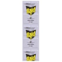 Пластины от мух для фумигаторов Raid 10 шт