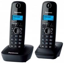 Радиотелефон DECT KX-TG1612UAH, серый
