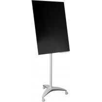 Фліпчарт мобільний зі скляною магнітною поверхнею 100х70 см