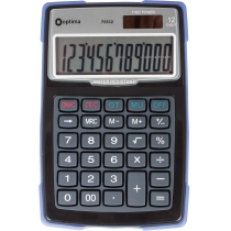 Калькулятор настільний Optima 12 розрядів, водонепроникний, розмір 156*103*38 мм