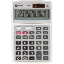 Калькулятор настольный Optima 12 разрядов, размер 143 * 94 * 29 мм