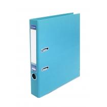 Папка-реєстратор А4 LUX Economix, 50 мм, блакитна (зібрана)