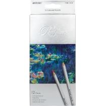 """Карандаши цветные """"Raffine"""", 12 цветов, шестиугольные, 3,2 мм"""