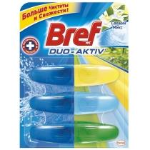 Засіб для догляду за унітазами Bref дуо-актив Свіжий Мікс 3-запаски 3 Х 50 мл