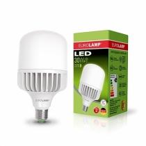 Лампа светодиодная сверхмощная 30W E27 4000K, EUROLAMP
