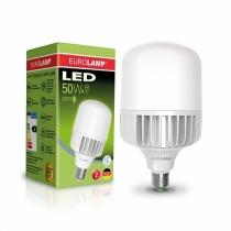 Лампа светодиодная сверхмощная 50W E40 6500K, EUROLAMP