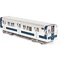 Модель вагона метро NYC, 10.4 см x 8.2 см х 40.9 см