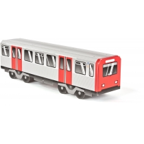 "Модель вагона метро ""Hamburg"", 10.4 см x 8.2 см х 40.9 см"