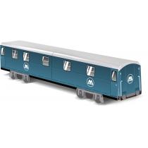 """Модель вагона метро """"MOLOTOW Train"""", 10.4 см x 8.2 см х 40.9 см"""