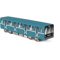 Модель вагона метро, 10.4 см x 8.2 см х 40.9 см