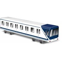 """Модель вагона метро """"Madrid"""", 10.4 см x 8.2 см х 40.9 см"""
