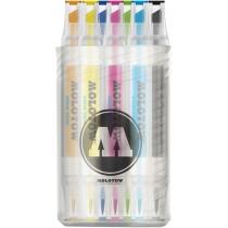 Набор маркеров акварельных AQUA TWIN в тубусе Set 1, 12 шт.