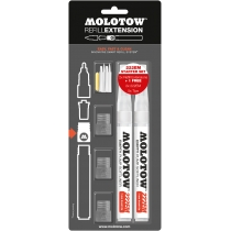 Набор маркеров под заправку Extension Softliner, 2мм, 4 мм