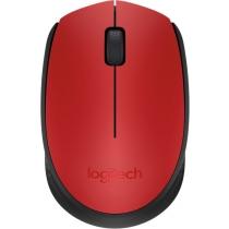 Мышь беспроводная компьютерная LOGITECH Wireless Mouse M171 - EMEA - RED