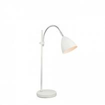 Лампа настільна (24859) Globo 40 Вт E14 біла