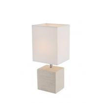 Лампа настольная светодиодная (21675) Globo 40 Вт E14 бежевая