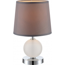 Лампа настольная (21669) Globo 40 Вт E14 кофейная