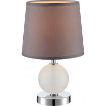 Лампа настільна (21669) Globo 40 Вт E14 кавова