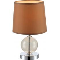 Лампа настільна (21668) Globo 40 Вт E14 коричнева