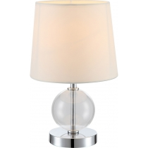 Лампа настільна (21667) Globo 40 Вт E14 бежева