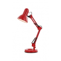 Лампа настільна (24882) Globo 40 Вт E27 червона