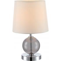Лампа настільна (21665) Globo 40 Вт E14 бежева
