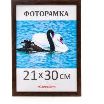 Фоторамка А4, 21*30, 1611-33, коричневая