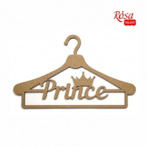 "Заготовка вішак ""Prince"", МДФ, 35х21,3см, ROSA TALENT"