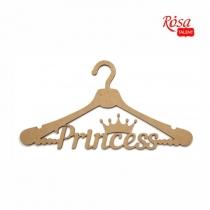 """Заготовока вешалка """"Princess"""", МДФ, 35х18,3см, ROSA TALENT"""