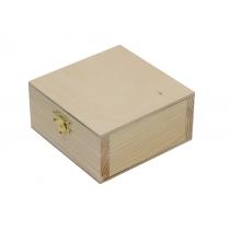 Скринька дерев'яна з замком, 20х7х16см, ROSA TALENT