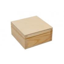 Шкатулка деревянная, 10х5х10см, ROSA TALENT