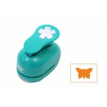 Фігурний дирокол, Метелик, 2,5 см, ROSA TALENT