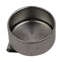 Маслёнка одинарная, металлическая (d: 4см), (11014) D.K.ART & CRAFT